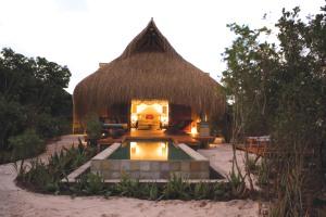 Azura Benguerra Villa at dusk